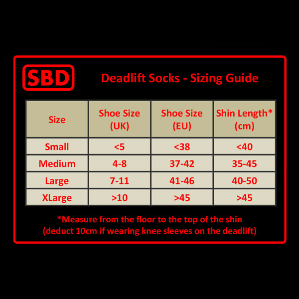 2a25e072eed1 Official SBD Deadlift Socks – BigZ Fit
